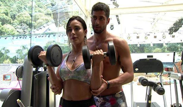Fotos da <b>academia</b> do <b>BBB14</b> 2014